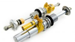 W124 Ohlins TTX adjustable suspension kit