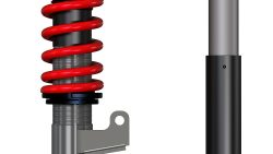 RSF Koni motorsport 28 series 2 way damping and height adjustable monotube coilover or inboard suspension kit - Mercedes W124 E Class