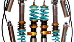RFF Nitron NTR R3 3 way damping and height adjustable coilover or inboard suspension kit - Mercedes W201 190e