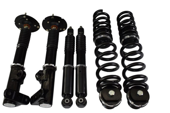 Rennsport Factory GT height and 1-way damping adjustable suspension kit for the Mercedes W124