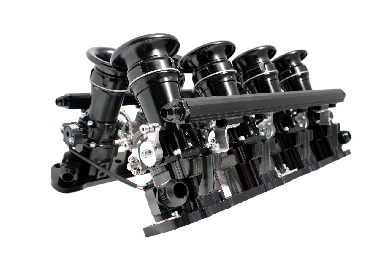 Individual throttle body conversion for Mercedes M119 engine inc 6 0 SL60  E60 AMG