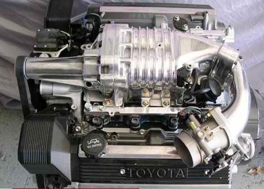 Toyota Lexus SC400 V8 1UZFE Eaton M90 supercharger kit